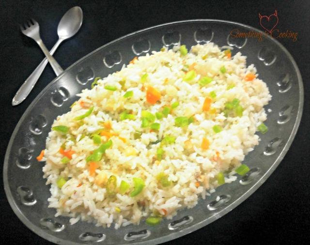 Burnt Garlic Rice