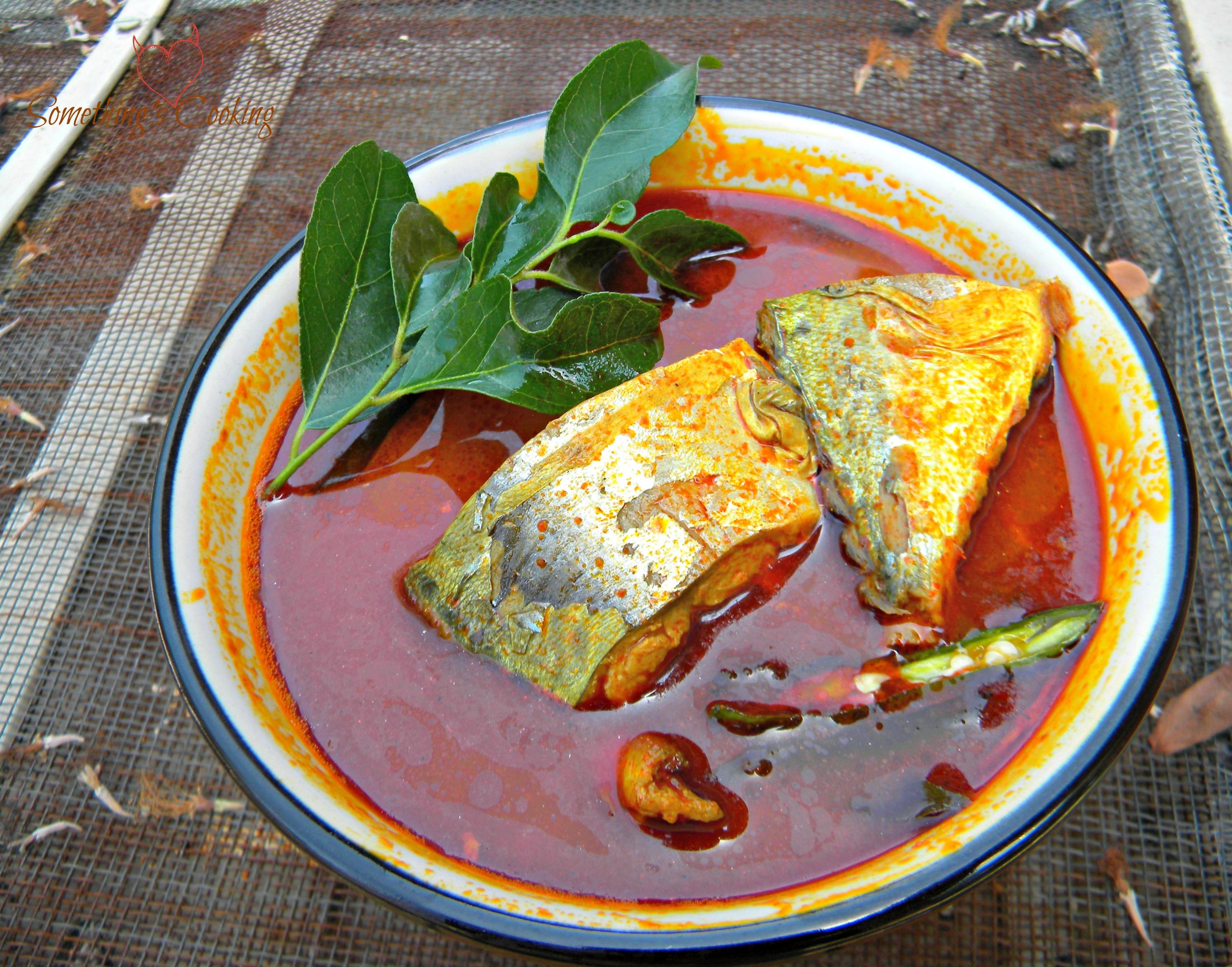 Ayala Fish Curry or Mackeral Fish Curry from Kerala, India