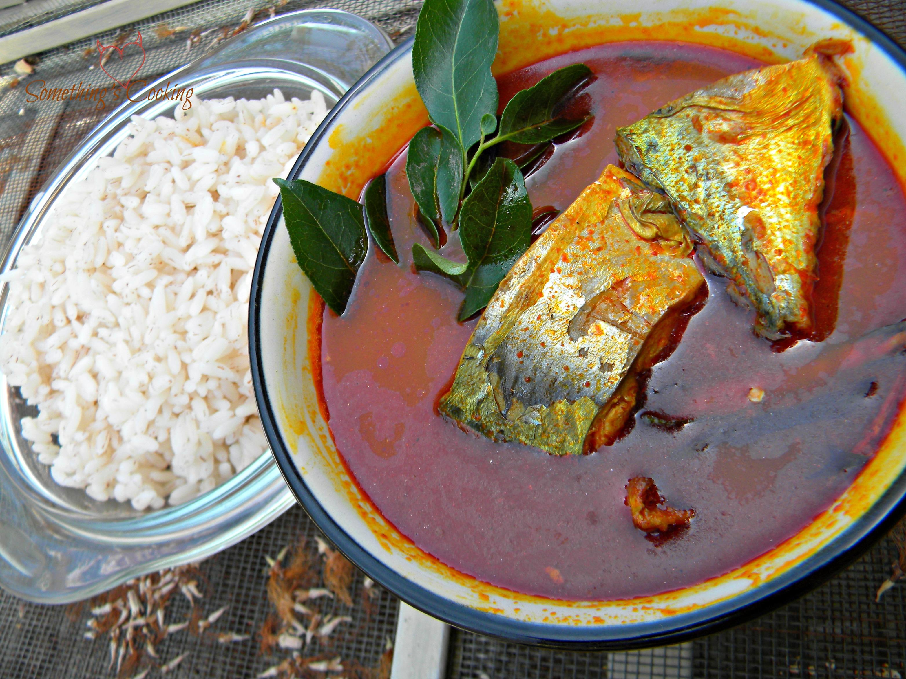 Mackerel Fish Curry Ayala Curry